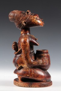 Porteo en Arte Africano