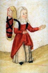 Mochila medieval