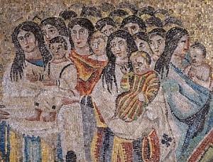 Mosaico portabebés
